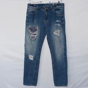Miss me Boyfriend ankle jeans